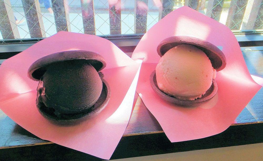 甘味カフェ「茶ゆ」で東山アイスもなかにかじりつこう!