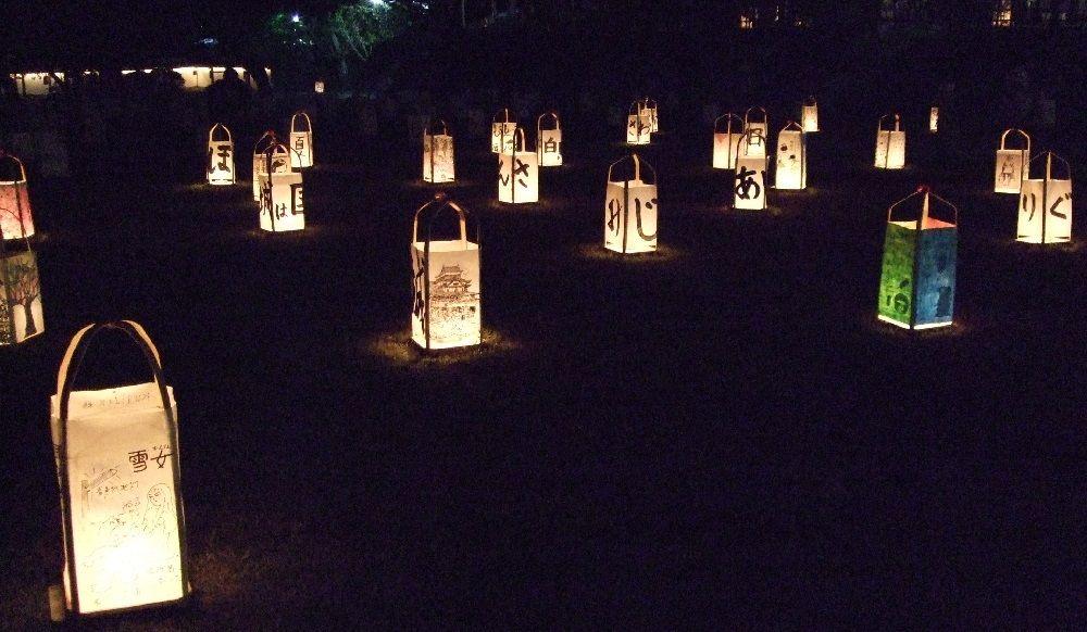 神在月の松江を彩る行灯は市民の手作りだった!