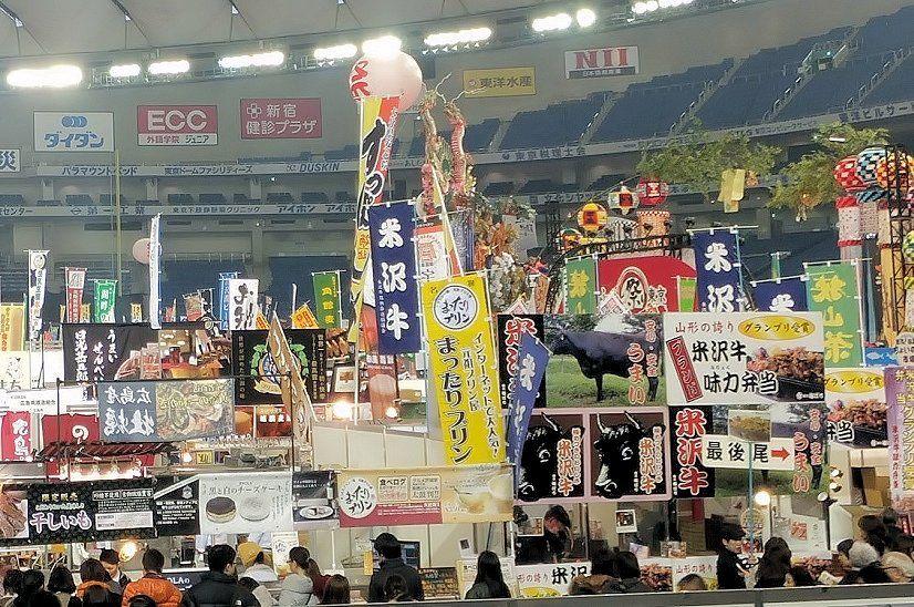 日本全国のご当地グルメが東京ドームに集結!