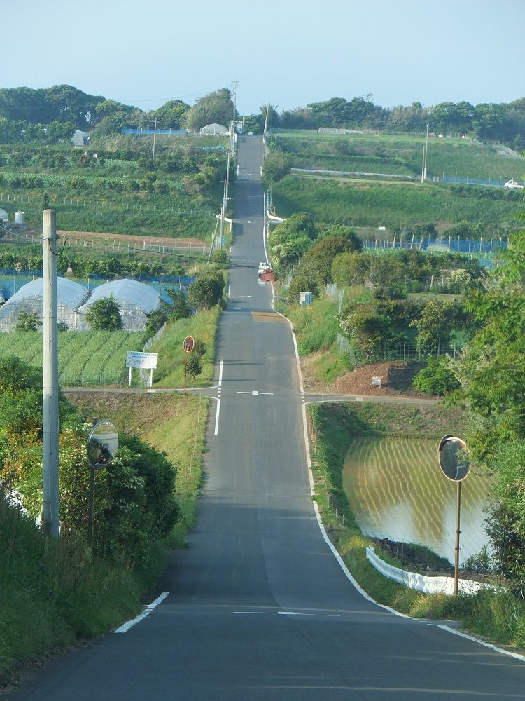 まるで北海道の一本道!加部島の農村風景ドライブ