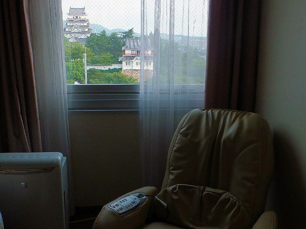 駅近ホテルから!優雅な気分に浸れるキャッスル・ヴューの朝