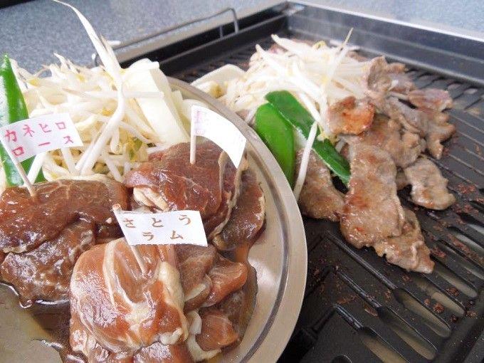 長沼温泉でジンギスカン食べ比べ!