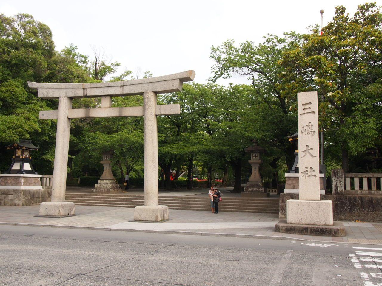 2,000年余の長い歴史がある三嶋大社