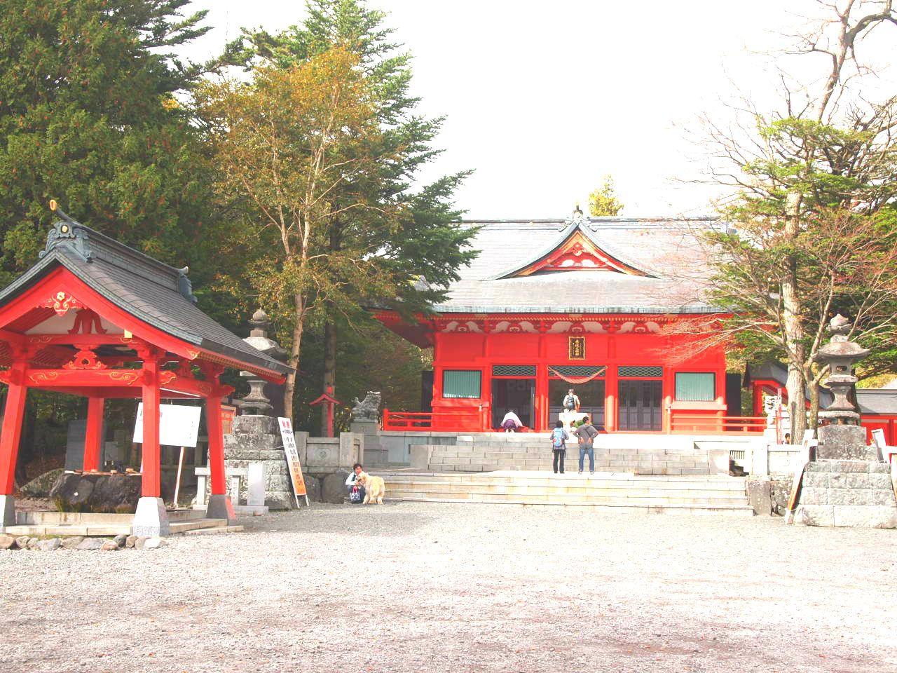 女性のためのパワースポット、赤城神社