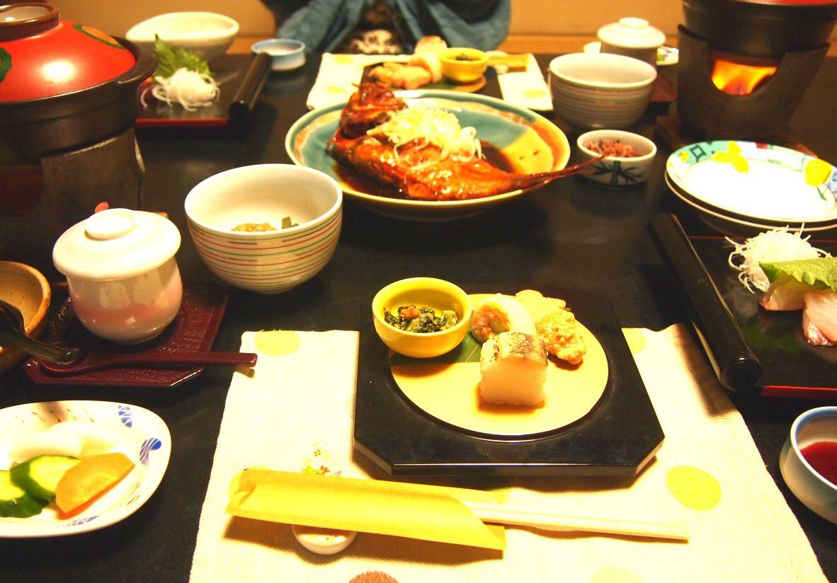 伊豆の名物「金目鯛」をお部屋食で贅沢に!