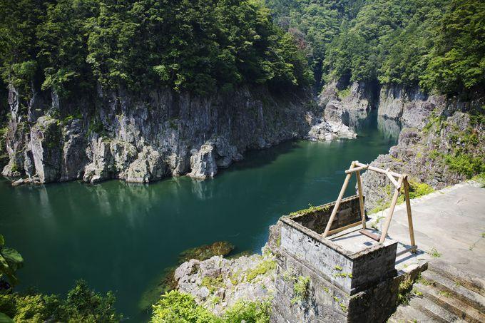 大自然が作り出した神秘的な峡谷「瀞峡」