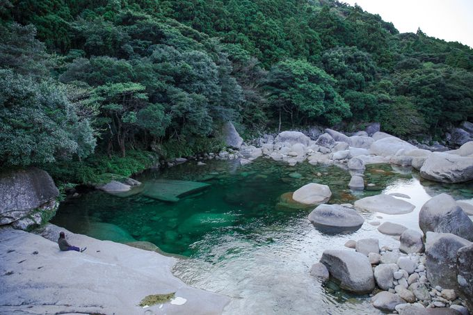 雄大な自然を感じることができる絶景の渓谷「横河渓谷」