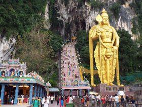 荘厳なパワースポット!「バトゥ洞窟」はマレーシア随一のヒンドゥー教の聖地