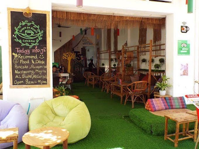 3.グリーン・オン・ピース カフェ&バー(Green on Peace cafe&bar)