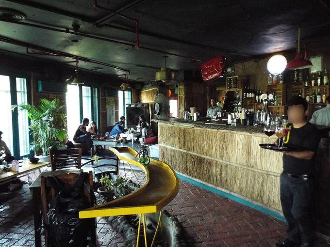 流行に敏感なカフェやレストランも激戦区
