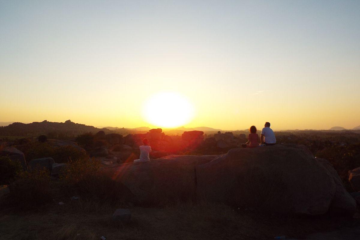 太陽とともに暮らす生活がここに