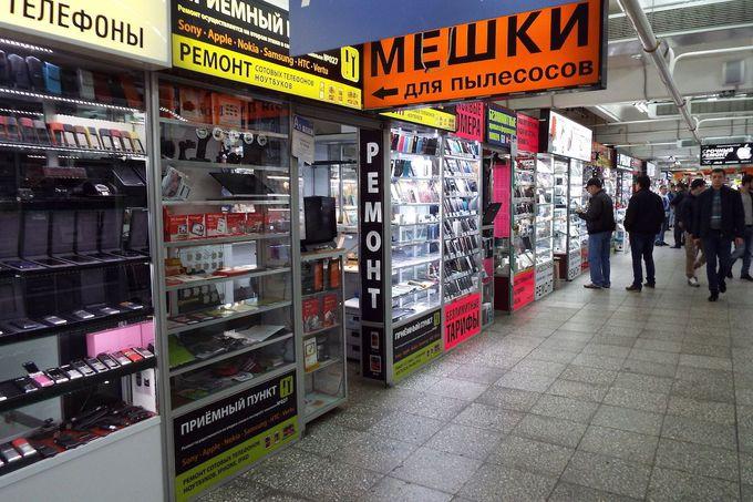 ロシア人なのに、とってもフレンドリーな店員たち