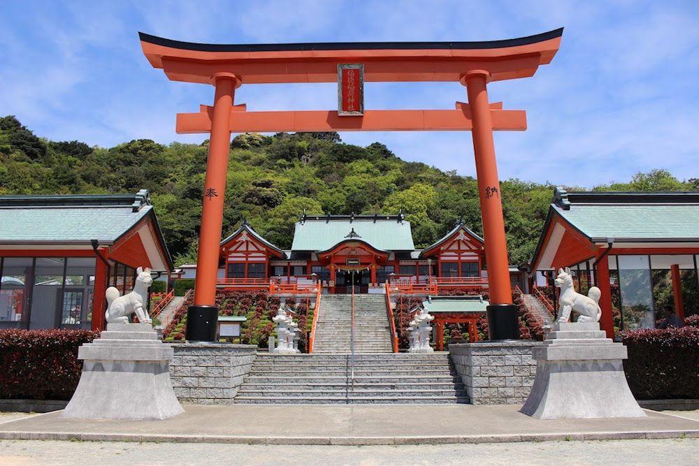 山口県にある絶景神社「福徳稲荷神社」とは?