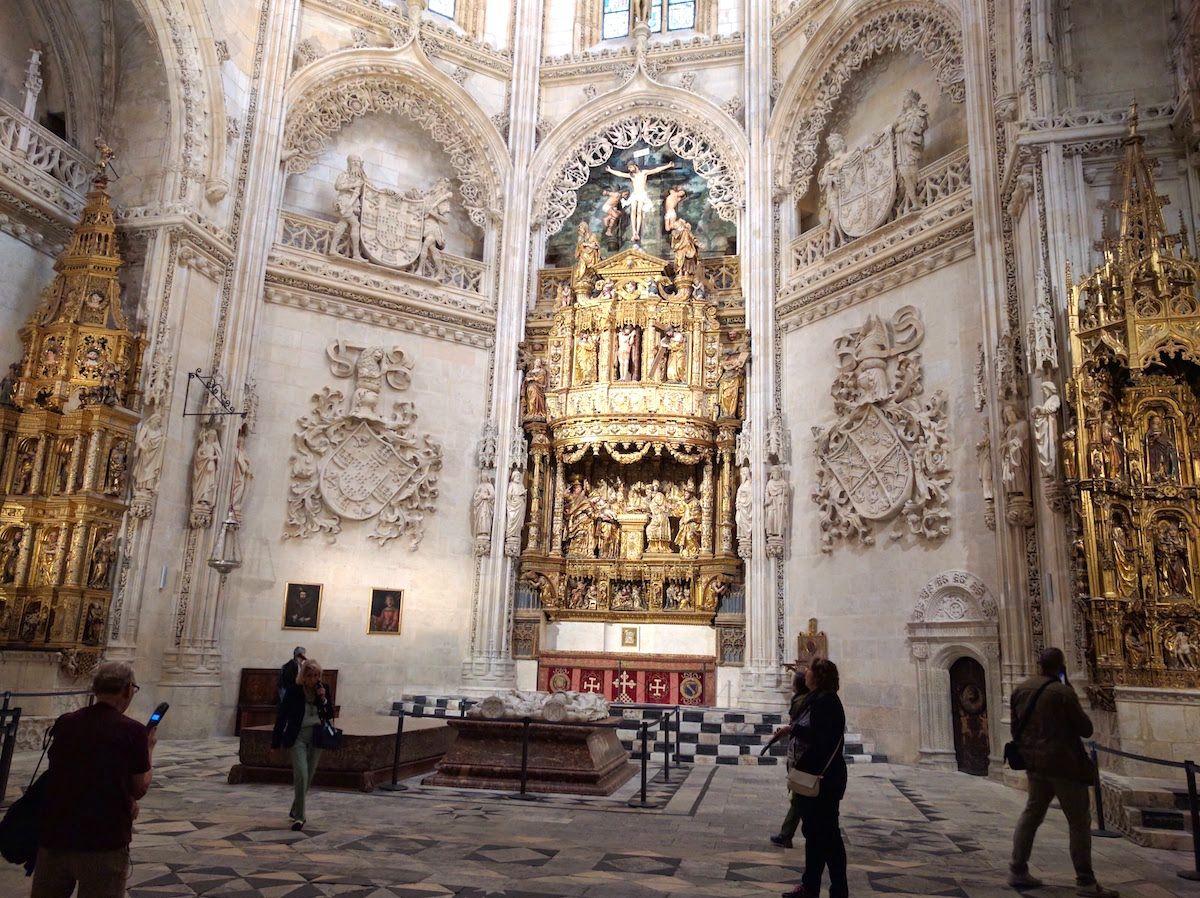 大聖堂のなかで、最も重要とも言われている「元帥の礼拝堂」
