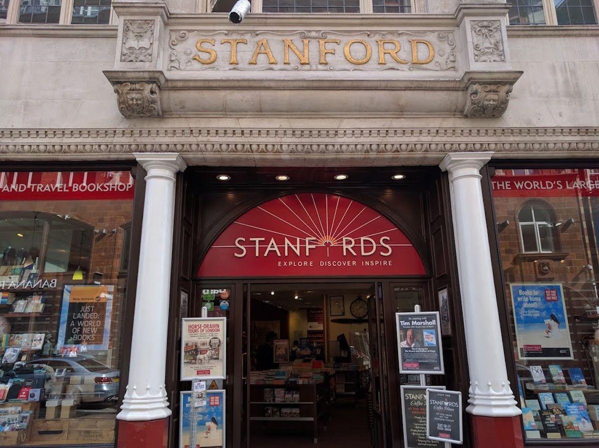1、世界最大の地図専門店「スタンフォーズ(Stanfords)」