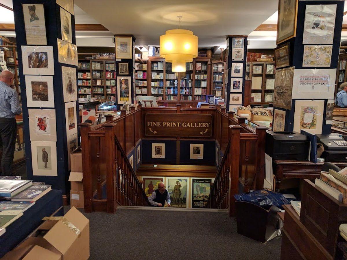 3、世界最古の古書店「ヘンリー・サザラン (Henry Sotheran)」