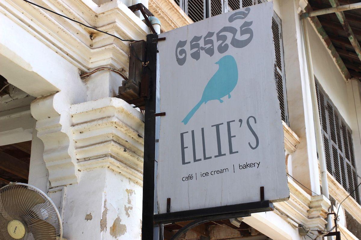 3、ポーチドエッグがおすすめ「Ellie's」