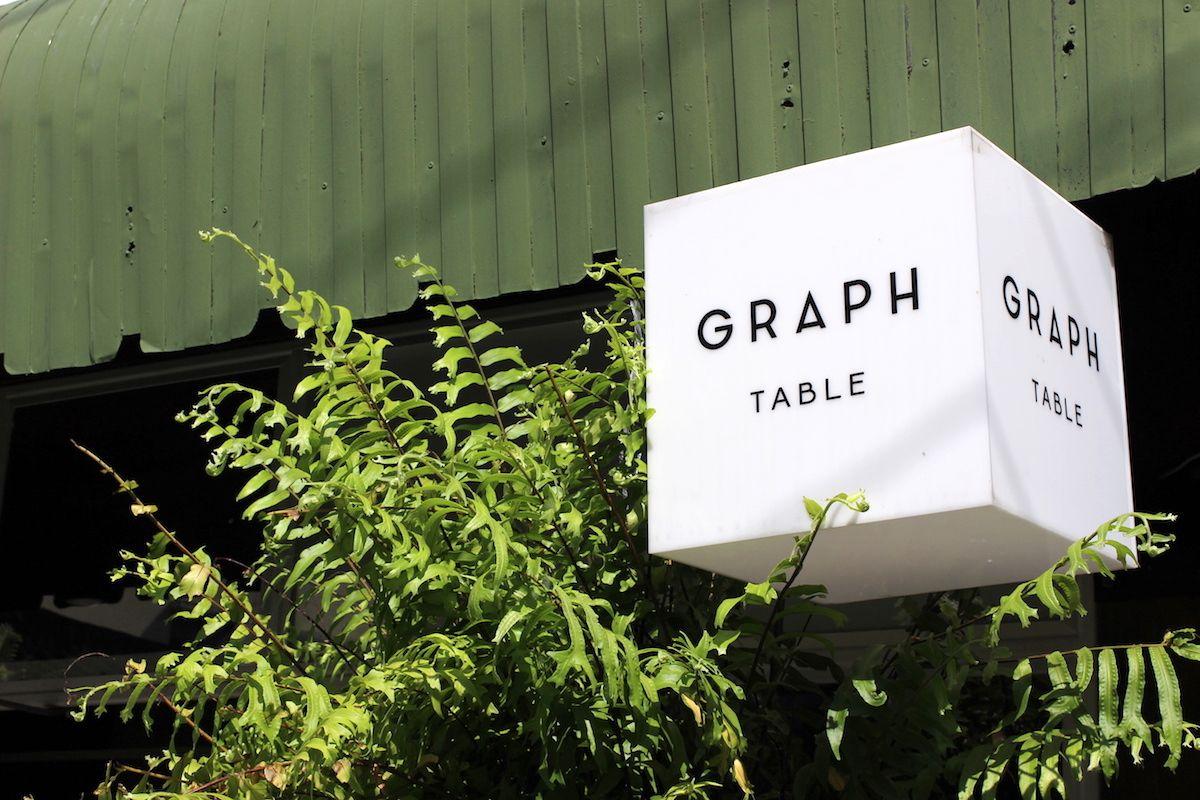 独創的な料理が楽しめる「GRAPH TABLE」