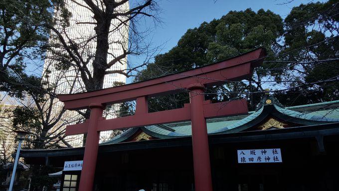 境内には猿田彦神社も