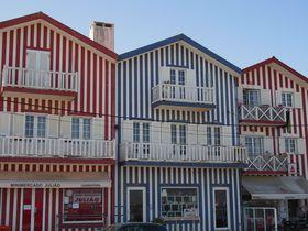 ポルトガル ストライプの可愛い街「コスタノヴァ」でインスタ旅を!
