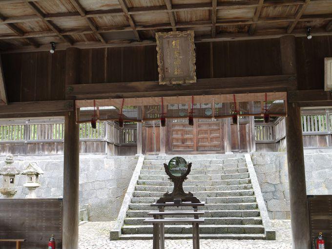 黄泉の国の入り口?伊弉冉命を祀る揖夜神社
