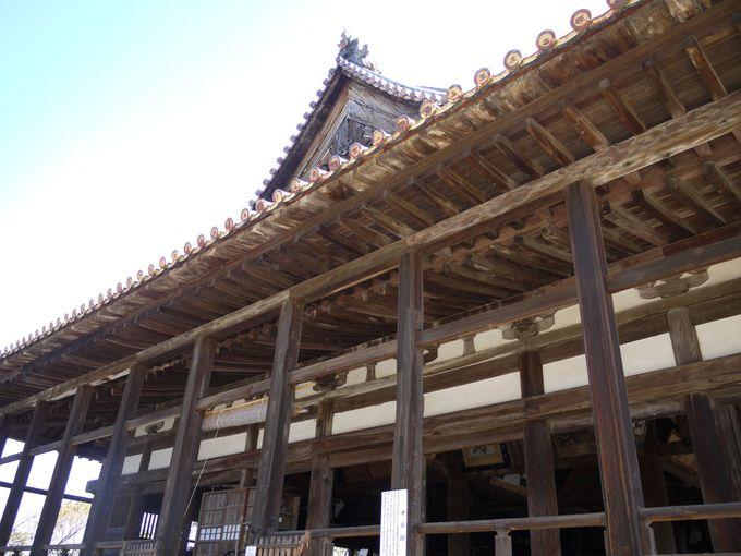 豊臣秀吉が建立した大経堂は圧巻!