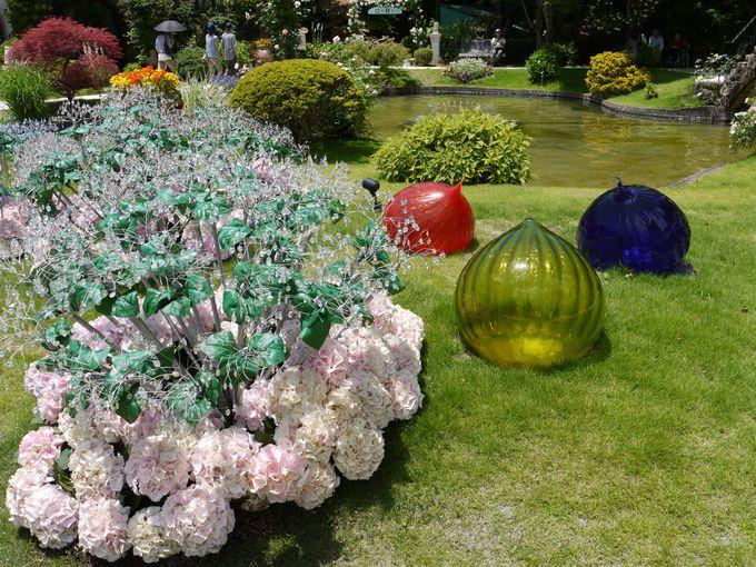 おとぎ話の世界に迷い込んだ?「箱根 ガラスの森美術館」