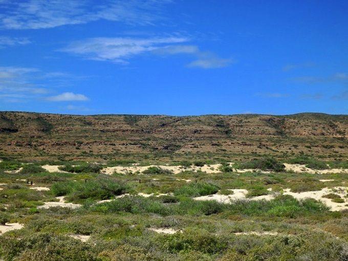 赤い大地と白砂のビーチが共存するケープレンジ国立公園