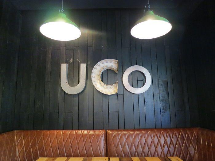 大人気のレストラン「UCO」