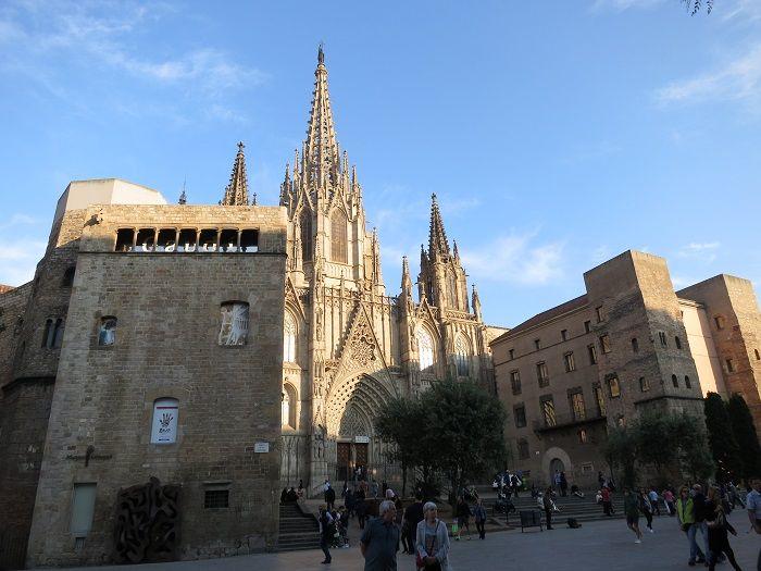 バルセロナ旧市街散策に絶好のロケーション