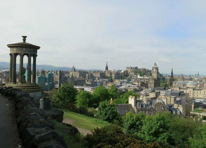 丘の上から旧市街を一望!カールトンヒルからの眺め