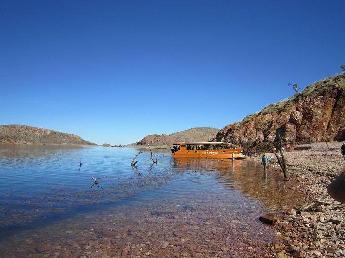 神秘的なアーガイル湖
