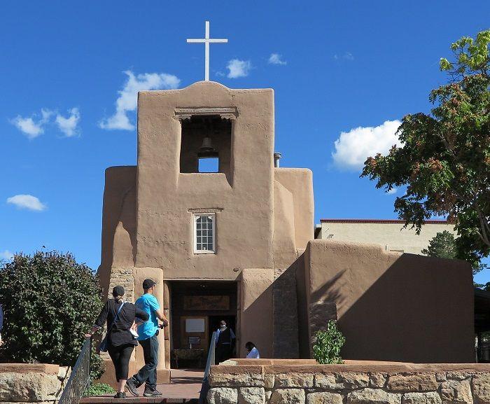 アメリカ合衆国最古の教会「サンミゲル教会」