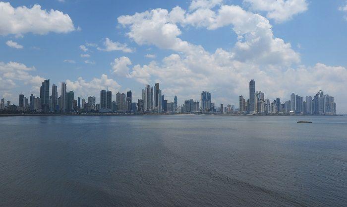 マイアミやニューヨークを思わせる摩天楼