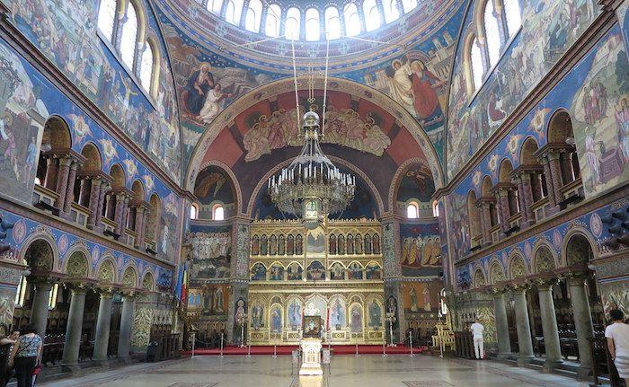 シビウ旧市街に建つ2つの大聖堂