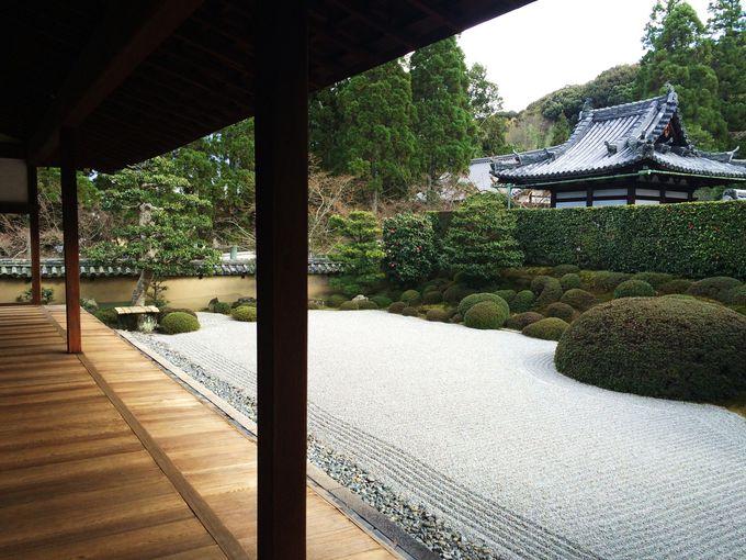 典型的な江戸時代の禅苑庭園「方丈庭園・南庭」