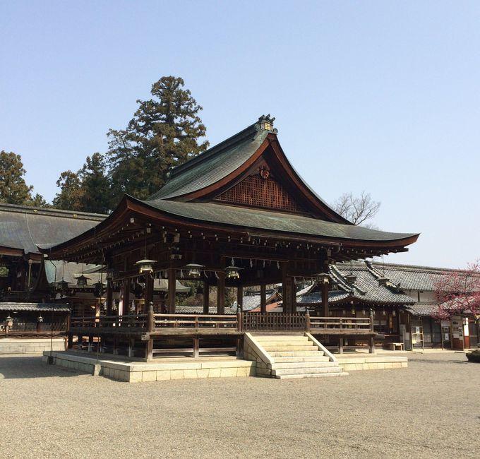 近江百華苑としても有名な沙沙貴神社