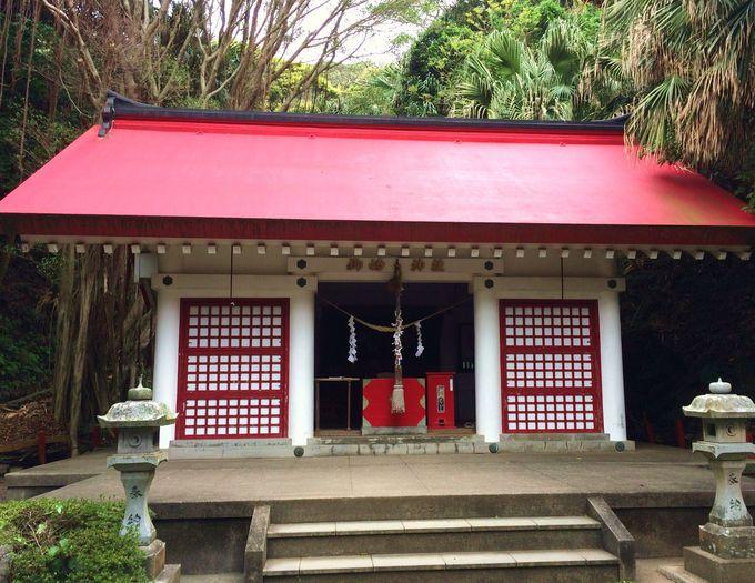 縁結びのパワースポット「御崎神社」の起源