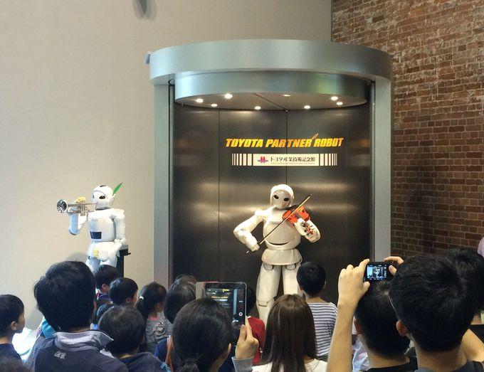 家族で楽しめる「ワークショップ」やパートナーロボットの「演奏会」