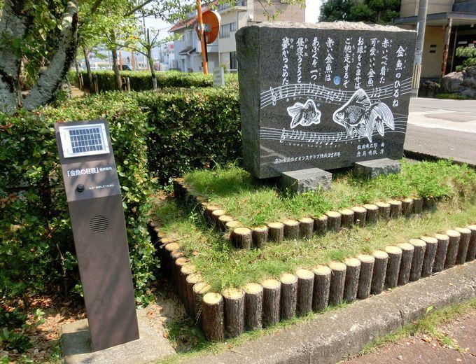 江ノ川上公園「金魚のひるね」