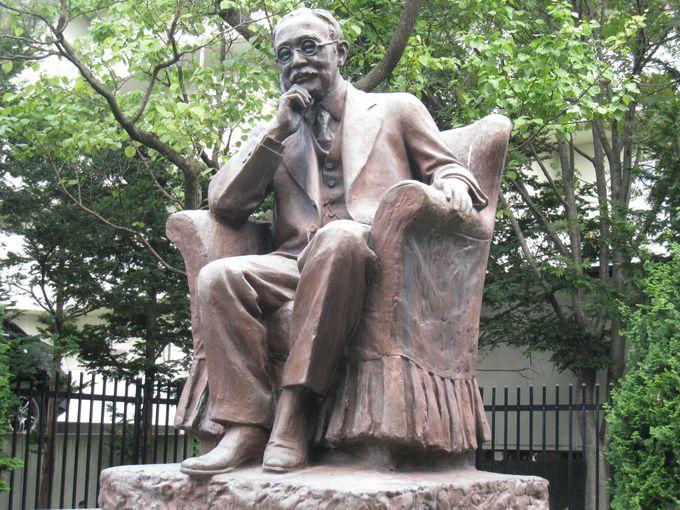 東京・多摩霊園にもある朝倉文夫の製作「新渡戸稲造像」