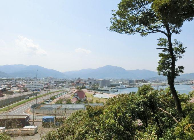 「金ヶ崎城」と敦賀の景観