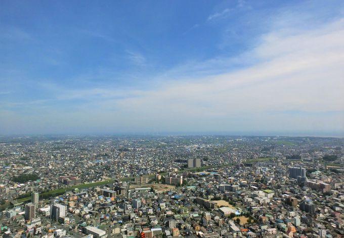 """ビアガーデンの前に45階・高さ185メートルの""""展望回廊""""で空中散歩!"""