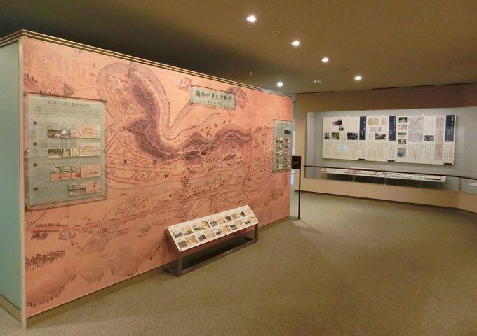 第二展示室は、津和野を中心とした展示