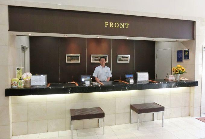 「ホテル法華クラブ熊本」のフロント・ロビー