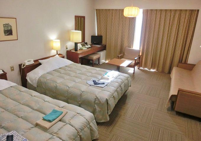 個人からグループ旅行、洋室から和室まで、幅広い対応の客室