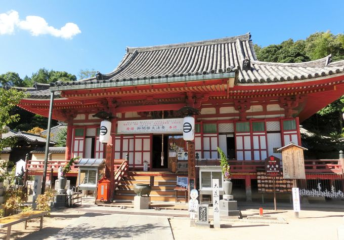 国宝であり約700年の歴史を持つ「浄土寺」の本堂