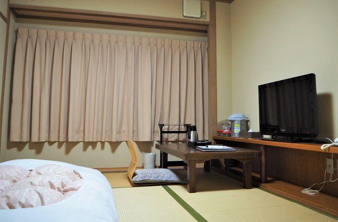のんびり落ち着ける和室