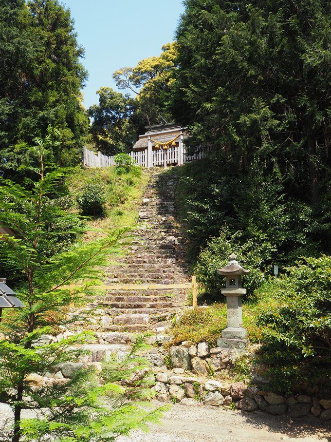 本殿と古式の建築方法