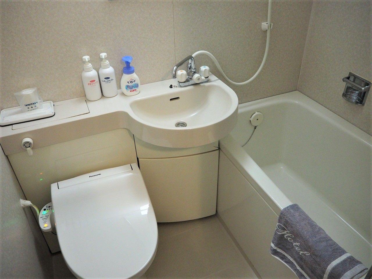 「ホテル海音里」には大浴場も